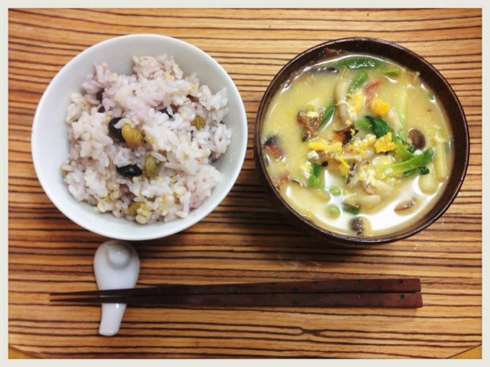 Vol26ご飯と味噌汁